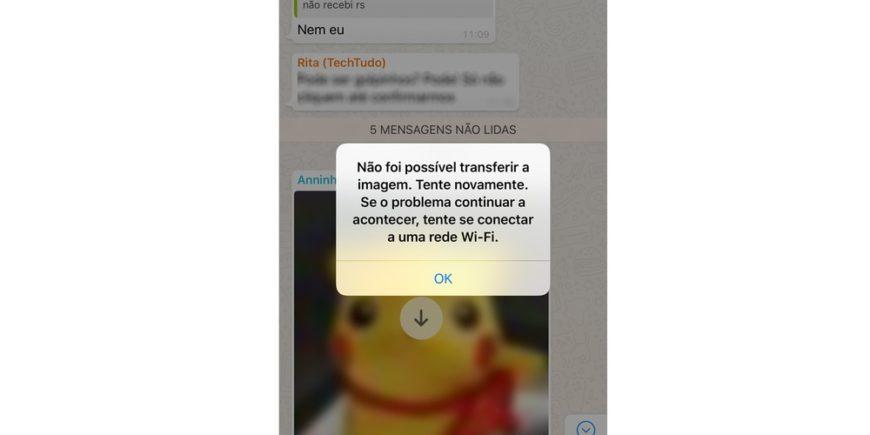 WhatsApp Está Com Instabilidade